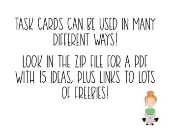 48 Spanish Imperfect Tense Task Cards (Regular and Irregular Verbs)