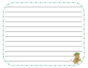 48 March Writing Prompts and Story Starter Task Cards