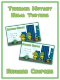 48 Ninja Turtle Reward Coupons - Colorful Behavior Incentive Scratch Off Tickets