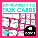 Spanish Numbers 0-100 Task Cards   Los Números 0-100 Activity