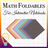 48 Order of Operations Questions (BEDMAS Interactive Notebook - Foldables)