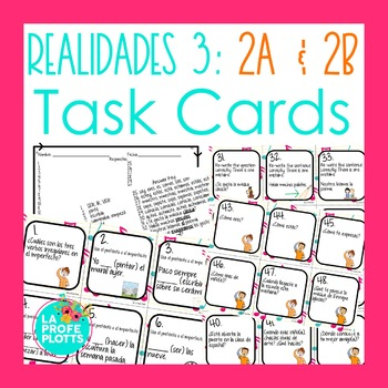 Realidades 3 Capitulo 5 Worksheets Teaching Resources TpT