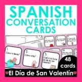 Spanish 1 Conversation Cards Valentine's Day Edition   Spa