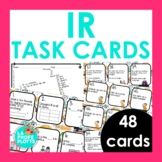 IR (To Go) Task Cards | Spanish Review Activity | 48 Cards
