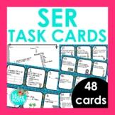 SER Spanish Task Cards   Spanish Review Activity