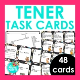 TENER Task Cards | Spanish Review Activity | 48 cards