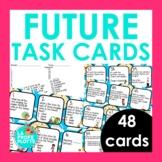 48 Spanish Future Tense Task Cards (Regular and Irregular Verbs)