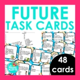 Future Tense Task Cards | Regular and Irregular Verbs | Sp