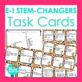 48 Spanish Present Tense E-I Stem-changers Task Cards