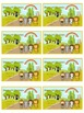 48 Wizard of Oz Reward Coupons - Colorful Behavior Incentive Scratch Off Tickets