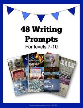 48 Writing Prompts For Levels 7-10