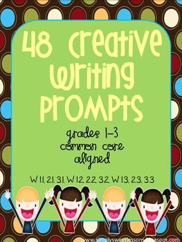 48 Writing Prompts with Graphic Organizers