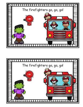 Emergent Reader - Fire Safety Week