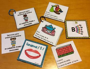 Palabras, Frases y Enunciados con P, B, M, F, D, S y T