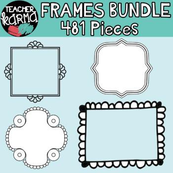 Chalkboard Frames BUNDLE
