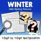 Color By Code Multiplication Facts Winter Winter Math Review Packet