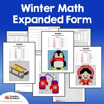 Winter Expanded Form Coloring Pages