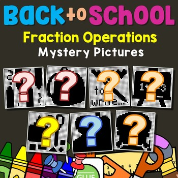 Back to School Fraction Operations