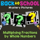 Multiplying Fractions With Whole Numbers Coloring Pages High School Activity