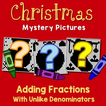Christmas Adding Fractions With Unlike Denominators