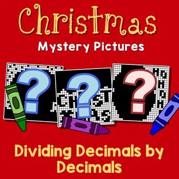 decimal division worksheets december color by code mystery  originaljpg