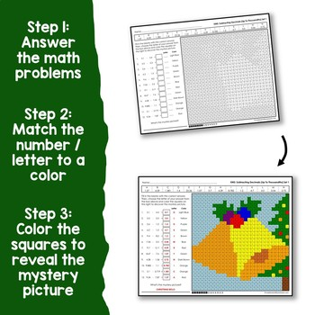 Christmas Adding and Subtracting Decimals
