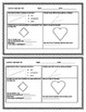 """4G Common Core Geometry Worksheets """"Half Page Frenzies"""""""