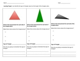4.G.1, 5.G.1, 5.G.2 Identify Triangles By Side Lengths