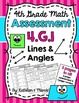 4.G.1 Lines & Angles BUNDLE