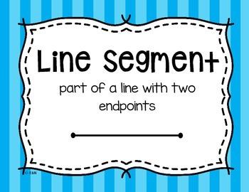 4.G.1 Poster Set: Lines & Angles