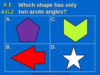 4.G.2 4th Grade Common Core Math - Classify two-dimensiona