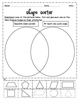 4.G.A.2 Venn Diagram Shape Sorter