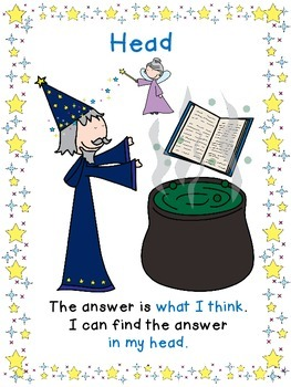 4H reading strategy - Fairy Tales version - posters, bookmarks & a question sort