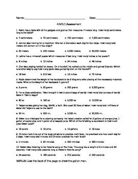 4.MD.1 Assessment