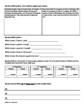 (4.MD.3) Area & Perimeter: 4th Grade Common Core Math Worksheets