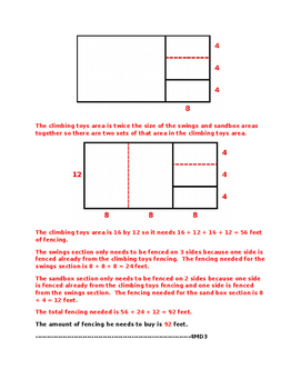 4MD3 Pre and Post Assessment Bank