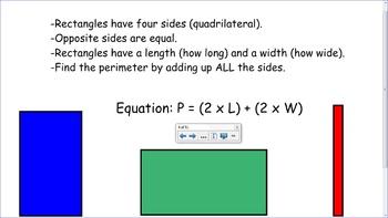 4.MD.3 SMART Board Lessons [51 Slides, ~1 week of instruction]