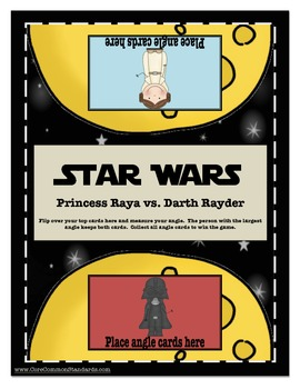 4.MD.5 Fourth Grade Common Core Worksheets, Star Wars Activity, and Poster