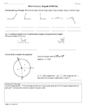 (4.MD.5a) Angles Part 1: 4th Grade Common Core Math Worksheets