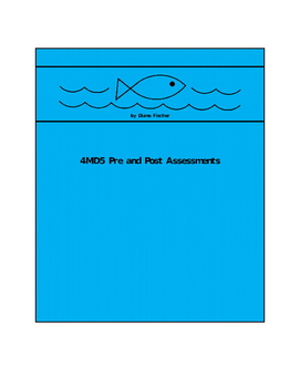 4MD5 Pre and Post Assessment Bank