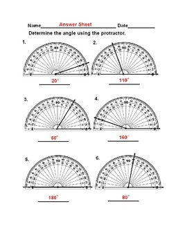4.MD.C.5,  4.MD.C.6, 4.GA.1 Measuring Angles With Protractor, Identifying Angles