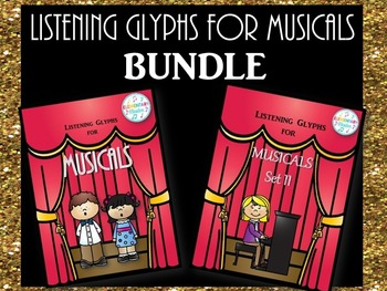 Listening Glyphs for Musicals BUNDLE