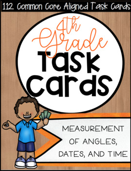 4NBT CCSS Standard Based Task Card Bundle - Includes 112 Cards!