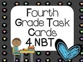 Fourth Grade Task Cards:  4.NBT