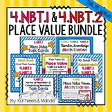 4.NBT.1 & 4.NBT.2: BUNDLE (Practice, Assessments, Posters, Activities)