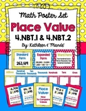 4.NBT.1 & 4.NBT.2: Place Value Poster Set
