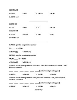 4.NBT.1 Assessment
