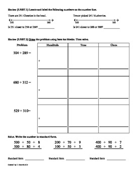 (4.NBT.1)Understanding Place Value: 4th Grade Common Core Worksheets-1st 9 Weeks