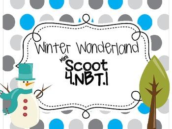 4.NBT.1 Winter Mini Scoot