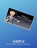 4.NBT.2 Do It! Use It! Teach It! Stations